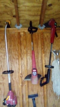 three string trimmers ($15 each) Bowie