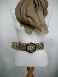 CK Adjustable Leather Belt  Surrey, V3R