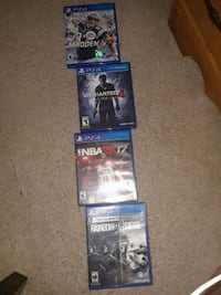 Ps4 games all in great condition 10$ each $40 all Plant City, 33567