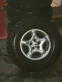 5 Land Rover wheels and tires