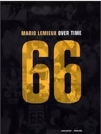 Mario Lemieux:  Over Time Book Vaughan