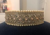 NEW Gold & Pearl Indian Choker Necklace Markham, L6B 1N4