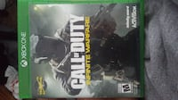 Call of Duty Infinite Warfare Xbox One game case