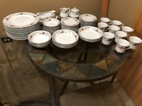 Sheffield Anniversary Vintage China 8 pc set w/extras-NEgotiable-Seeking if any interest, message me please if interested Tinley Park, 60477