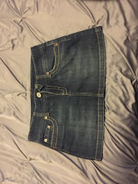 American Eagle Denim Skirt (Size: 8) Chantilly, 20152