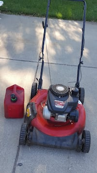Red and black push mower West Lafayette, 47906