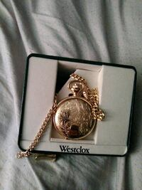 Gold pocket watch new