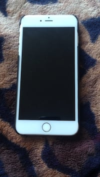 silver iPhone 6 with black case San Jose, 95131