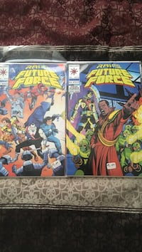 Valiant rai future force comic books Desert Hot Springs, 92240
