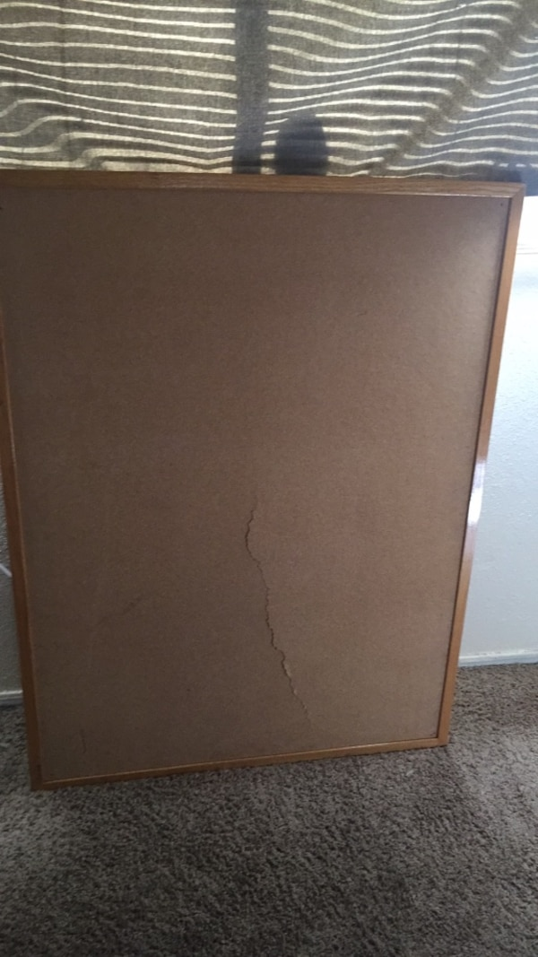 Used Large Cork Board Cracked For Sale In El Paso Letgo
