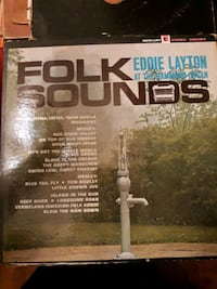 Eddie Layton At The Hammond Organ - Folk Sounds Vinyl Record LP