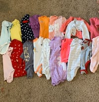 0-3 month girl pants and bottoms!