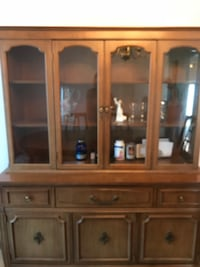 Antique wood dining room cabinet Toronto, M6L 2E1