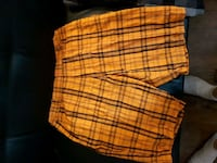 orange and black plaid shorts Hamilton, L9G 2X6