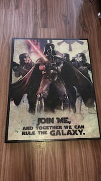 Star Wars Canvass Print Vancouver, V6G 3J3