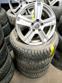 "16"" VW Alloy Rims $200* ▪︎ Tires 4pcs $200* Toronto, M3K 1Z9"