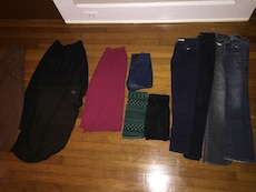 assorted clothes lot