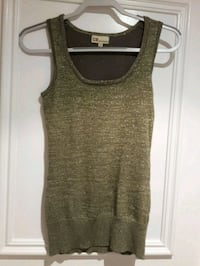 SHIMMER TANK TOP LONG GREEN AND ROSE SIZE SMALL 2 FOR $15  Toronto, M6B 2A2