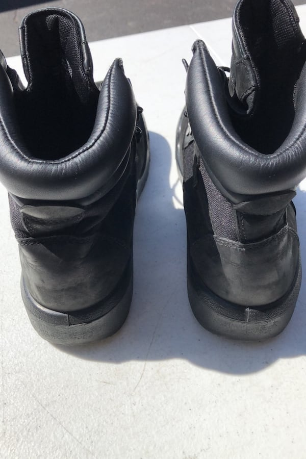 Timberland mens black boots size 7 3