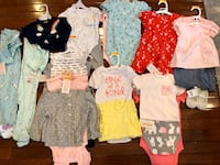 Baby girl clothes All new with tags on Falls Church, 22041