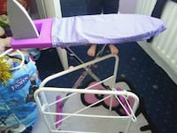 baby's white and purple bassinet Brierley Hill, DY5 3UN