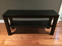Black Brown TV Stand Bench Calgary, T3A 0A4
