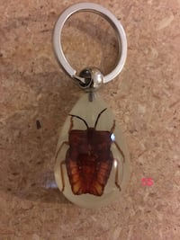 white and brown bug keychain Red Deer, T4R 2H5
