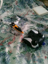 black and white quadcopter with controller Vaughan, L4H 3N5