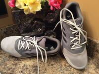 Adidas gray, black, & white running shoes ( pls slide to see other photo )- brand new Calgary, T2J