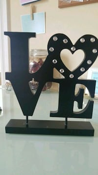 """LOVE"" home decor  Surrey, V3W 6K6"