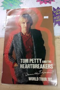 Tom Petty 1980 Concert Tour book Port Charlotte, 33953