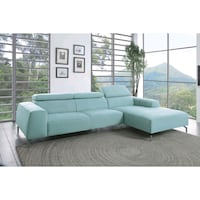 gray fabric sectional sofa screenshot Austin