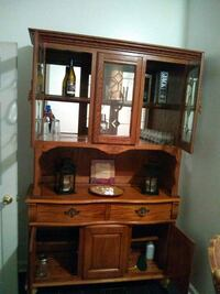 brown wooden desk with hutch Baltimore, 21223