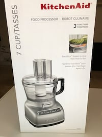 New KitchenAid 7-cup food processor with exact slice system Fairfax, 22031