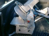 Stainless steel industrial meat slicer Haines City, 33844