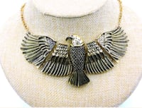 *BETSEY JOHNSON* Show Stopper Eagle Necklace. Irving, 75038
