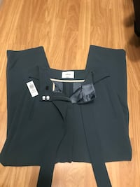 Aritzia Wilfred Tie Front Pants Size 4