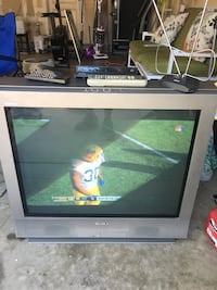 Gray and black crt tv Brentwood, 94513