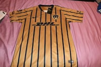 white and black striped Nike jersey shirt St. Louis, 63116