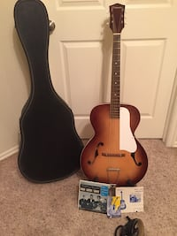 Silvertone N-5 Accoustic Archtop 1960's guitar