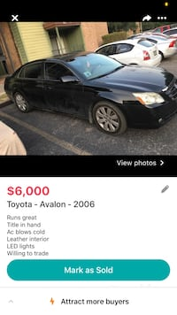 2006 Toyota Avalon Washington