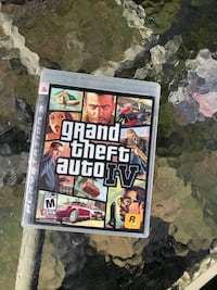 Grand Theft Auto IV Xbox 360 game case Châteauguay, J6K 1M6