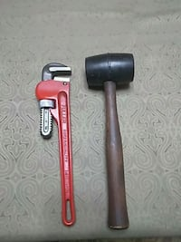 Pipe wrench and mallet Fairfax, 22033