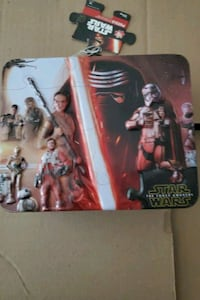 Star Wars the force  Awakenedlunch pail puzzle