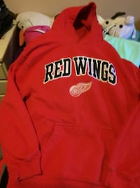 red Red Rings pullover hoodie