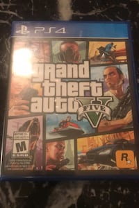 Grand theft auto five never used for ps4 Toronto, M1G 3L8