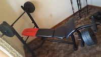 WEIDER PRO WITH 4 - 25LB WEIGHTS.  Marrero, 70072