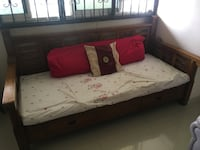white and red floral bed sheet SINGAPORE