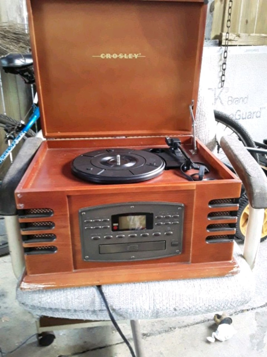 Photo CD player and record player