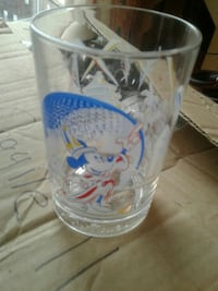 Mickey Mouse etched drinking glass Ottawa, K2H 8A6
